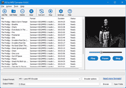 Click to view FLV to MP3 Converter 2.2.2.1 screenshot