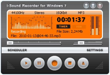 i-Sound Recorder for Windows 7, Windows 8 and Windows 10